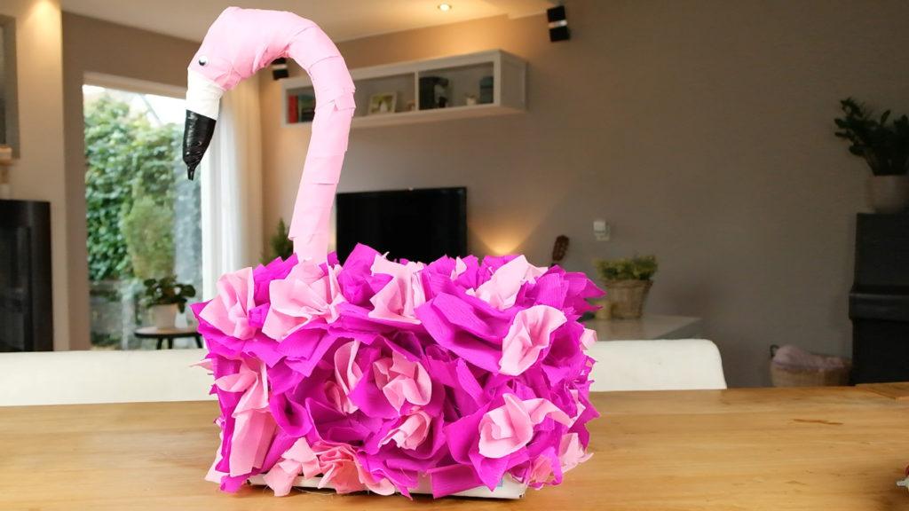 Flamingo surprise