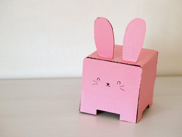 Konijn tissuebox