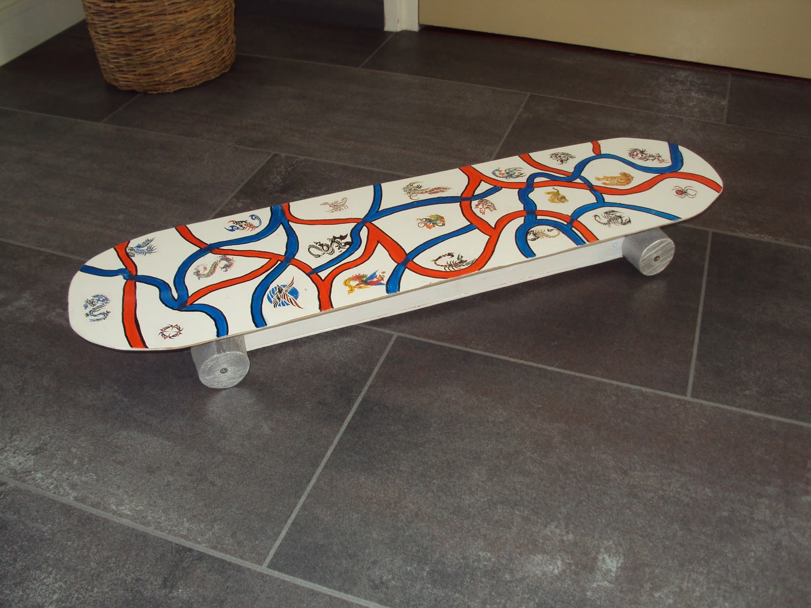 Skateboard surprise