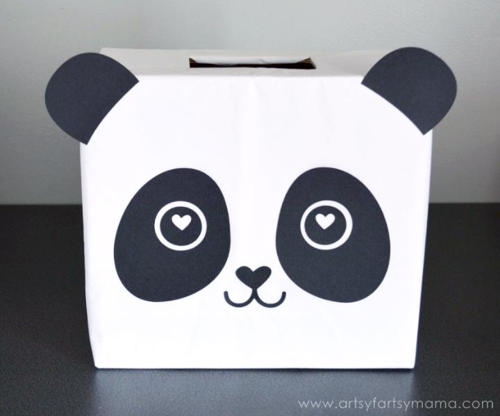 Panda surprise
