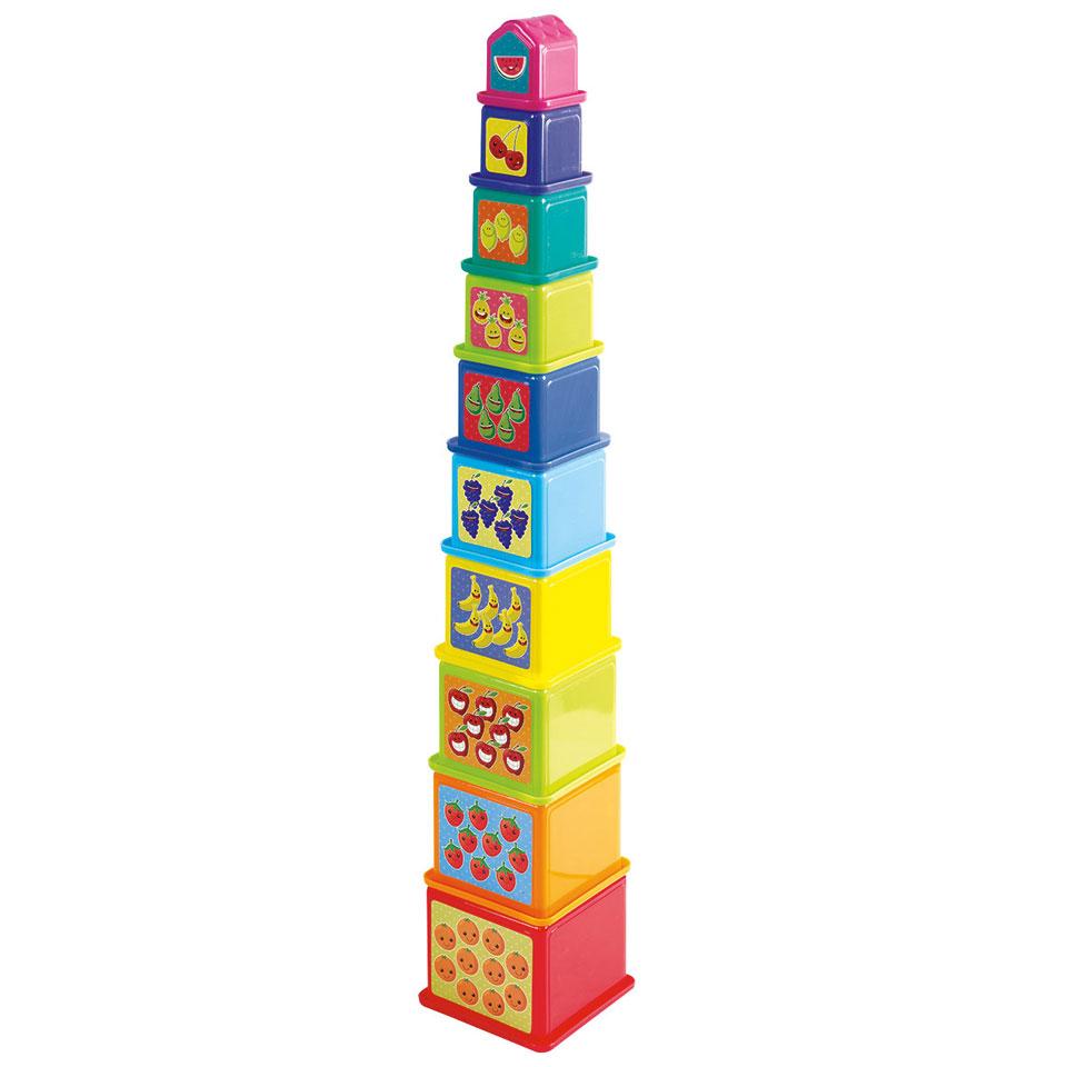 Stapelblokken toren